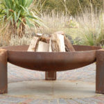 modern fire pit Links to Sculpture and firepits.